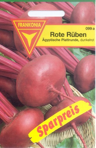 Frankonia 099a Rote Rüben Ägyptische Plattrunde, Samen
