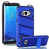 Handy schützen, Für Samsung Galaxy s8 Plus s7 kante fallabdeckung Das mit standplastik mit TPU Rahmen für Samsung (Farbe : Rotgold, Kompatible Modellen : Galaxy S7)