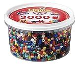Hama 210-67 - Scatola di perline, colori assortiti