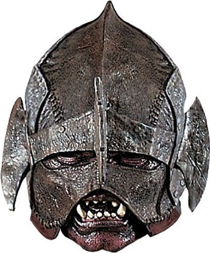 Uruk-hai Maske aus Herr der Ringe (Kostüme Herr Der Ringe)
