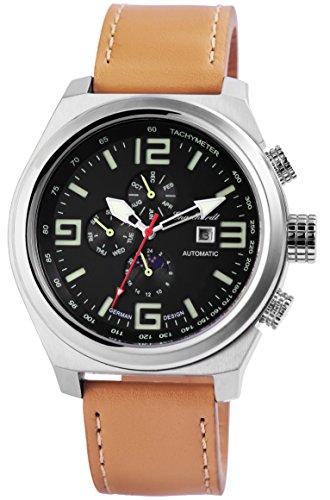 Engelhardt Men's Analog Watch with Leather Strap 389521029003