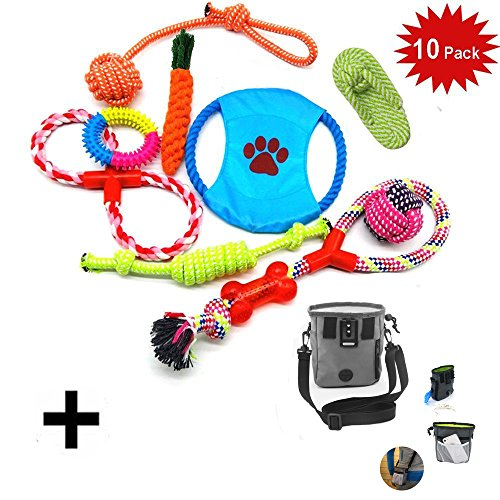 10 PCS Perro Mascota Juguetes Interactivos,WoBoSen...