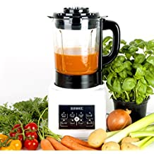Duronic BL89 Batidora de Vaso con Función para Sopas / Máquina para Sopas Eléctrica / Robot Cocina con Vaso de Cristal Termoresistente 1.75L / Sopas / Cremas / Salsas / Batidos