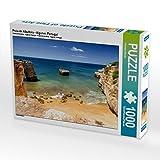 Praia de Albufeira - Algarve, Portugal 1000 Teile Puzzle quer (CALVENDO Natur) - Thomas Klinder