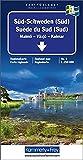 Kümmerly & Frey Karten, Süd-Schweden (Süd): South: Malmö, Växjö, Kalmar (Regional Maps - Schweden) - Kümmerly + Frey