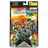 G. I. Joe G.I. JOE Hasbro 25th Anniversary 3 3/4' Wave 2 Action Figures Comic Book 2-Pack Torch & Ripper