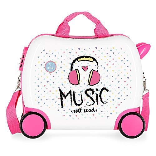 Petite valise Enfant porteur Roll Road Music