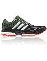 adidas Performance RESPONSE BOOST TECHFIT Zapatillas para Correr Running Negro para Hombre