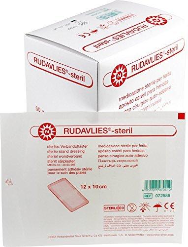 Rudavlies Steril Wundschnellverband 12 x 10 Centimeter (cm) 50 Stück