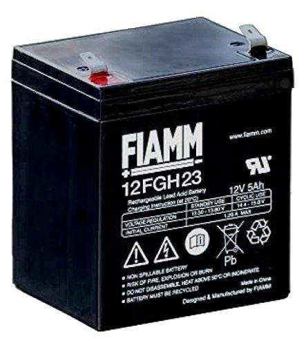Batteria Fiamm al Piombo 12V 5Ah Faston 6,3mm