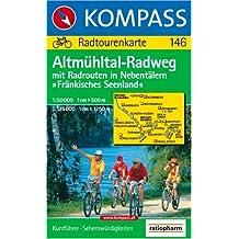 Kompass Karten, Altmühltal-Radweg