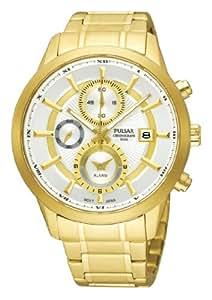 Pulsar Herren-Armbanduhr XL Analog Quarz Edelstahl PF3890X1