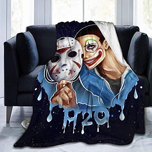 BLANKNTC Schlafsofa Couchdecke H-2O-De-li-rious AR-My Fleece Decke-Throw/Travel-Lightweight Soft-Warm Throw Blanket-Ganzjahres-Premium-Schlafdecken M