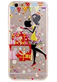 ISAKEN Coque pour iPhone 5C, Transparente Ultra Mince Souple TPU Silicone Etui Housse...