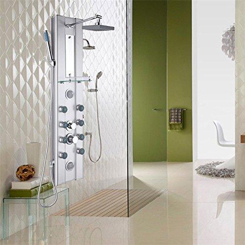 Zxy Home Bad ZXY vorgespanntes glas dusche wc dusche sprinkler anzug - dusche tap main top haarspray - spray