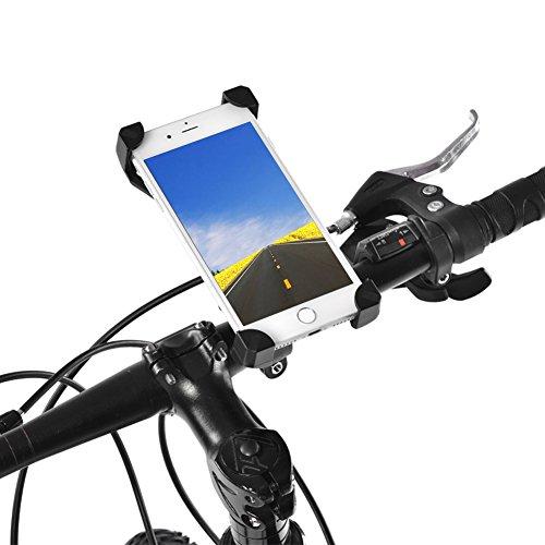 Acogedor Soporte para teléfono móvil Universal para Manillar de Bicicleta y Soporte...