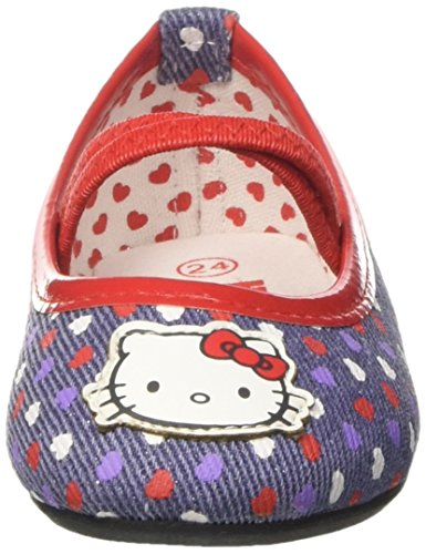 Hello Kitty Baby Mädchen S15861haz Krabbel-& Hausschuhe Blau larjLRippT