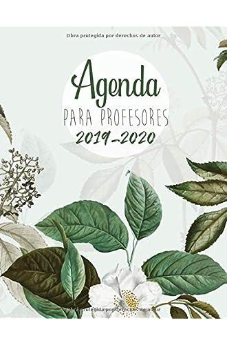 Agenda Para Profesores 2019