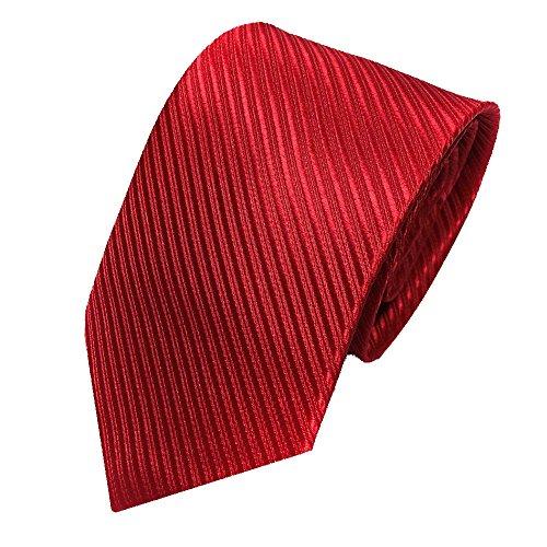 Gestreifte Krawatte in 5cm Breite in verschiedenen Farben klassisch Schlips Männer-Design zum Hemd mit Anzug für Business - Verschiedene Arten Von Kostüm Designer