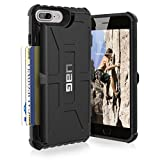 Urban Armor Gear-Protection UAG - Pour iPhone 7 - Conforme Aux Tests Militaires De Protection Du Téléphone En Cas De Chute - Monarch - GRAPHITE
