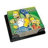 The Simpsons Desk Block 2019 Calendar - Page a Day Desk Block Format