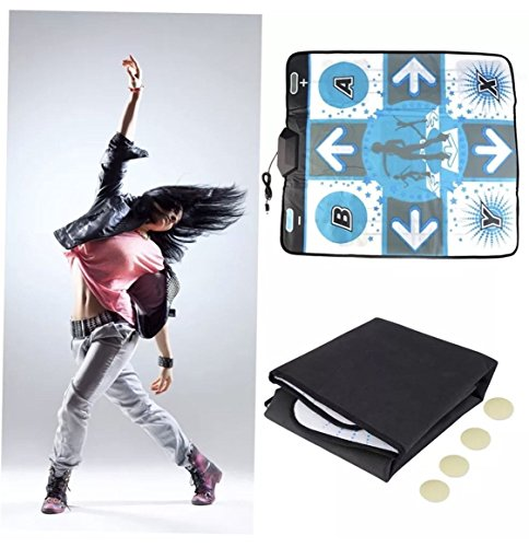 dance-revolution-x-treme-pad-platino-para-nintendo-wii-gamecube-alfombra-baile