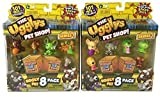 The Ugglys Pet Shop Series 1 - 2 Different Sets of Visible Ugglys 8 Packs