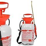 Hecht Drucksprühgerät 405 Drucksprüher Unkrautspritze (5 Liter Behälter ✔ Schultertragegurt ✔)