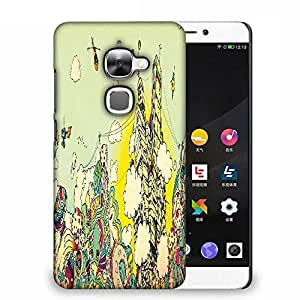 Snoogg Colorful City Drawing Designer Protective Phone Back Case Cover For Samsung Galaxy J1