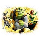 Shrek image XXL, application, thermocollant à repasser Housse de coussin à monter soi-même
