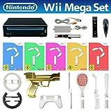 Wii MegaSet (inkl. 5 Spiele, Remote & viel Zubehör)