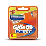 #7: Gillette Fusion Manual Shaving Razor Blades - 8s Pack (Cartridge)