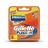 #3: Gillette Fusion Manual Shaving Razor Blades - 8s Pack (Cartridge)