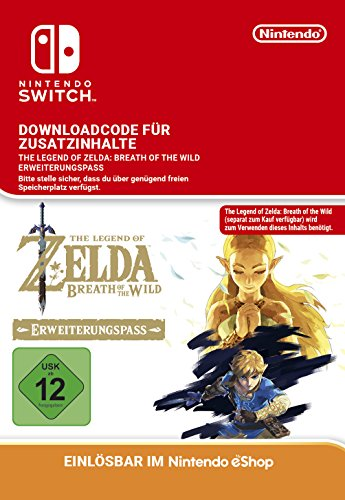 Zelda: Breath of the Wild Expansion Pass DLC [Switch Download Code] (Legends Of Zelda Sachen)