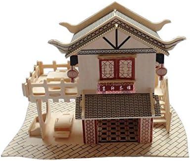 Le bâtiHommes t Teahouse en trois diHommes sions de de de l'Assemblée Femmeuel modèle en bois b6edf4