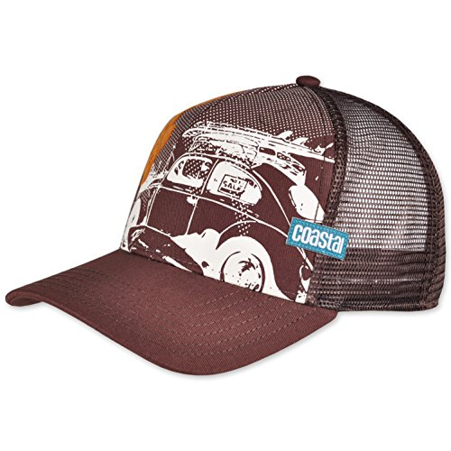 COASTAL - Beetle (dark brown) - High Fitted Trucker Cap