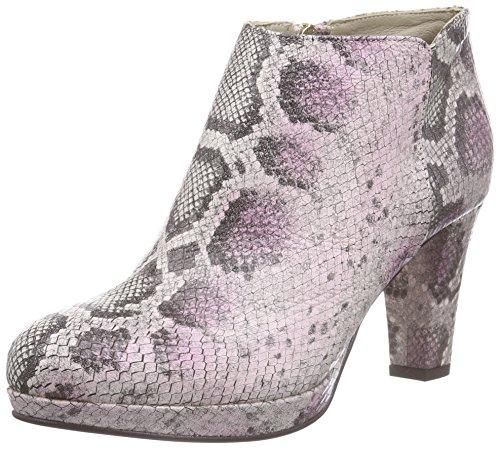 Noe Antwerp Nadra Shoety Damen Kurzschaft Stiefel Pink (HOT PINK)