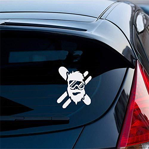 Autoaufkleber Skifahrer Snowboarder Masked Sticker Aufkleber Auto Auto Stoßstange Glas Laptop für Auto Laptop Fenster Aufkleber