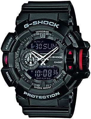 Casio G-Shock – Reloj Hombre Correa de Resina GA-400-1BER