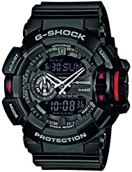 G-Shock Herren Armbanduhr Xl G-Shock Analog - Digital Quarz Resin Ga-400-1Ber