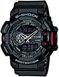 Casio G-Shock - Herren-Armbanduhr mit Analog/Digital-Display und Resin-Armband - GA-400-1BER