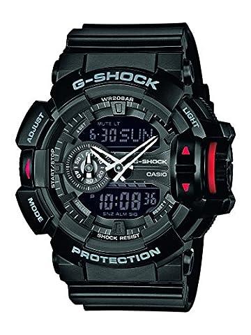 G-Shock Men's GA-400-1BER Digital Quartz Black Watch