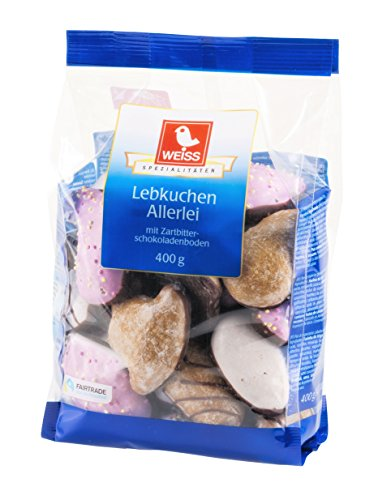 Weiss Lebkuchen-Allerlei, 10er Pack (10 x 400 g)