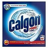 Calgon Poudre 3en1 Anticalcaire et Nettoyant pour le Lave-Linge 40 Lavages
