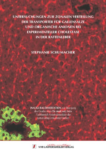 Untersuchungen zur zonalen Verteilung der Transporter für Gallensalze und organische Anionen bei experimenteller Cholestase in der Rattenleber