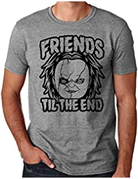 35mm - Camiseta Hombre Chucky Friends Til The End