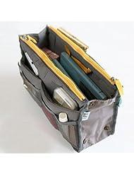 Demarkt Organizador de bolsillo interior de la bolsa de almacenamiento para el bolso grande o bolsa organizador del viaje bolsa de almacenamiento