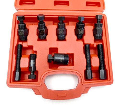 Polrad-Abzieher-Set für Geländemotorrad, 10-teilig, universelles Werkzeug, Größe 15, Linksgewinde
