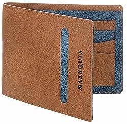 MarkQues Nolan Tan Mens Wallet (NLA-440405)