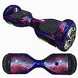 HCFKJ 6,5 Zoll Self-Balancing Scooter Skin Hover Elektro Skate Board Aufkleber Zwei-Rad Smart Schutzhülle Fall Aufkleber (L)